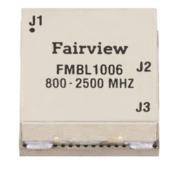 800 MHz to 2.5 GHz Balun at 50 Ohm to 25 Ohm Rated to 100 Watts in a SMT (Surface Mount) Package high resolution