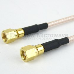 SMC Plug to SMC Plug Cable RG316 Coax in 60 Inch high resolution