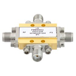 Field Replaceable SMA IQ Mixer From 8.5 GHz to 13.5 GHz With an IF Range From DC to 2 GHz And LO Power of +19 dBm high resolution