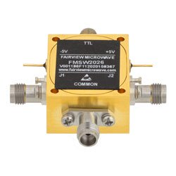 1 85mm SPDT PIN Diode Switch Absorptive From 100 MHz to 67 GHz Rated