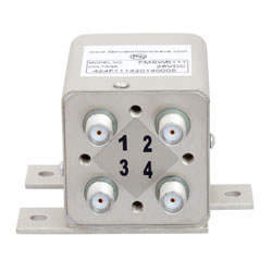 Transfer Failsafe DC to 26.5 GHz Electro-Mechanical Relay Switch, 20W, 28V, SMA high resolution