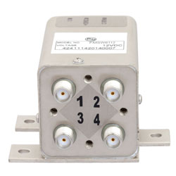 Transfer Failsafe DC to 26.5 GHz Electro-Mechanical Relay Switch, Indicators, TTL, Diodes, 20W, 12V, SMA high resolution