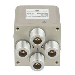 Transfer Failsafe DC to 12.4 GHz Electro-Mechanical Relay Switch, 160W, 28V, N high resolution