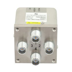 Transfer Failsafe DC to 12.4 GHz Electro-Mechanical Relay Switch, Indicators, TTL, Diodes, 50W, 12V, TNC high resolution