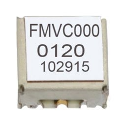 VCO (Voltage Controlled Oscillator) 0.175 inch SMT (Surface Mount), Frequency of 125 MHz to 250 MHz, Phase Noise -107 dBc/Hz high resolution