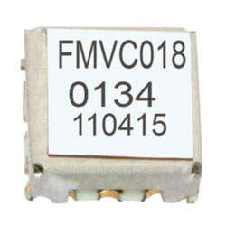 VCO (Voltage Controlled Oscillator) 0.175 inch SMT (Surface Mount), Frequency of 9 GHz to 10 GHz, Phase Noise -78 dBc/Hz high resolution
