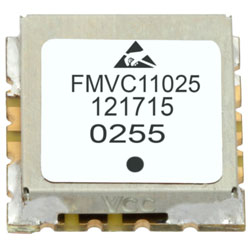 VCO (Voltage Controlled Oscillator) 0.5 inch SMT (Surface Mount), Frequency of 3.12 GHz to 3.87 GHz, Phase Noise -81 dBc/Hz high resolution