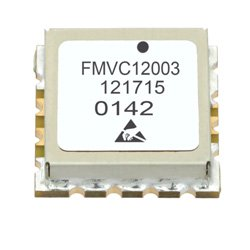 VCO (Voltage Controlled Oscillator) 0.5 inch SMT (Surface Mount), Frequency of 260 MHz to 280 MHz, Phase Noise -123 dBc/Hz high resolution