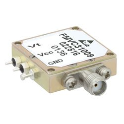 VCO (Voltage Controlled Oscillator) Frequency of 200 MHz to 400 MHz, Phase Noise -106 dBc/Hz and SMA high resolution