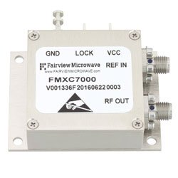 500 MHz Phase Locked Oscillator, 10 MHz External Ref., Phase Noise -110 dBc/Hz and SMA high resolution