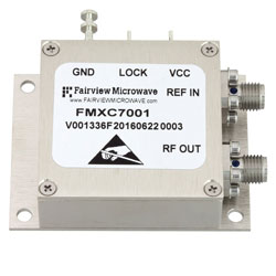 1 GHz Phase Locked Oscillator, 10 MHz External Ref., Phase Noise -105 dBc/Hz and SMA high resolution