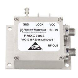 4 GHz Phase Locked Oscillator, 10 MHz External Ref., Phase Noise -120 dBc/Hz and SMA high resolution
