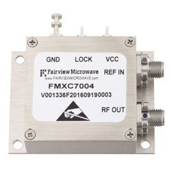 6 GHz Phase Locked Oscillator, 10 MHz External Ref., Phase Noise -95 dBc/Hz and SMA high resolution