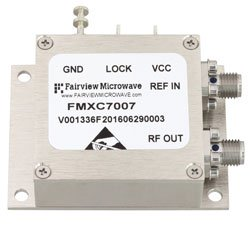 2 GHz Phase Locked Oscillator, 100 MHz External Ref., Phase Noise -110 dBc/Hz and SMA high resolution