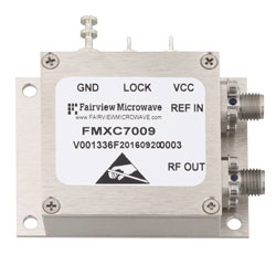 6 GHz Phase Locked Oscillator, 100 MHz External Ref., Phase Noise -90 dBc/Hz and SMA high resolution