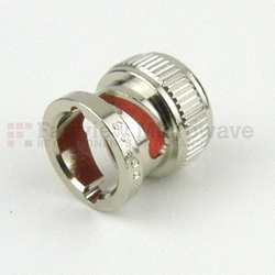BNC Male Open Circuit Connector Cap high resolution