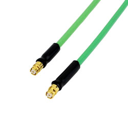 SMP Female to SMP Female Cable HF-086 Coax and RoHS Compliant high resolution