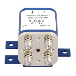 Transfer Failsafe DC to 18 GHz Electro-Mechanical Relay Switch, up to 240W, 12V, SMA high resolution