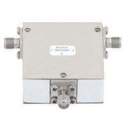 Circulator SMA Female With 14 dB Isolation From 2 GHz to 6 GHz Rated