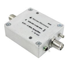 15 dB Gain Block Amplifier Operating From 10 MHz to 3 GHz with 11 dBm P1dB and SMA high resolution