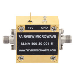 2 dB NF, 26.5 GHz to 40 GHz, Low Noise Broadband Amplifier with 11 dBm, 30 dB Gain and 2.92mm high resolution