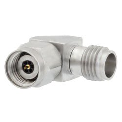 RA 1.85mm Female to 2.4mm Male Adapter high resolution