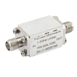 SMA Limiter Pin-Pin With 15 dBm Flat Leakage Operating From 1 GHz to 3 GHz high resolution