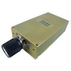SMA Adjustable Phase Trimmer With an Adjustable Phase of 30 Deg. Per GHz From 18 GHz to 26 GHz high resolution
