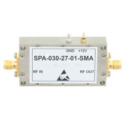 Medium Power GaAs Amplifier at 1 Watt P1dB Operating from 20