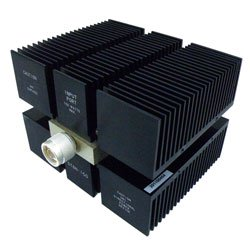 RF Load 150 Watts High Power To 8 GHz Black Anodized Plated