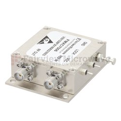1 GHz Phase Locked Oscillator, 100 MHz External Ref., Phase Noise -110 dBc/Hz and SMA View 2
