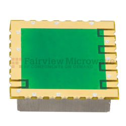 500 MHz Phase Locked Oscillator in 0.9 inch SMT (Surface Mount) Package, 100 MHz External Ref., Phase Noise -110 dBc/Hz View 2