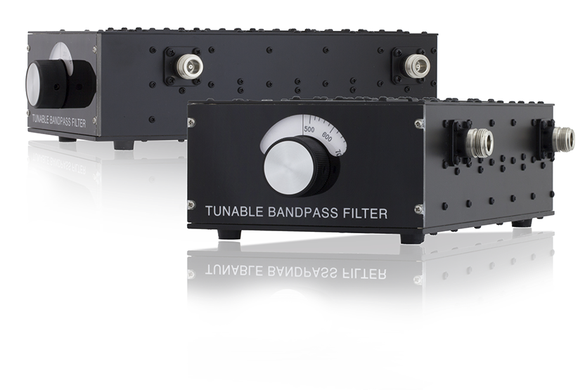 Band Pass and Band Reject Tunable filters
